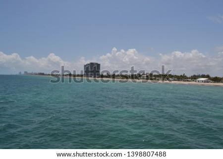 Dania Beach and Hollywood Florida Zdjęcia stock ©