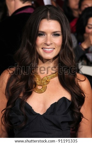 "Danica Patrick at ""The Twilight Saga: Breaking Dawn - Part 1"" Los Angeles Premiere, Nokia Theatre L.A. Live, Los Angeles, CA 11-14-11"