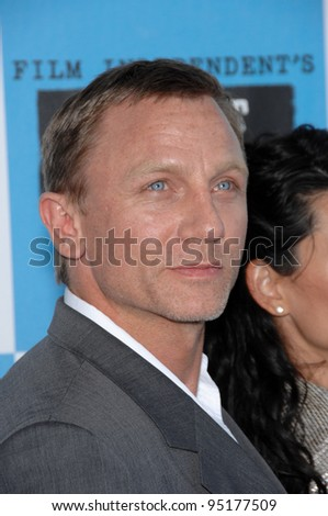 Daniel Craig at Film Independent's 22nd Spirit Awards on the beach at Santa Monica, California. February 24, 2007 Santa Monica, CA Picture: Paul Smith / Featureflash