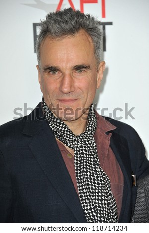 "Daniel Day-Lewis at the AFI Fest premiere of his movie ""Lincoln"" at Grauman's Chinese Theatre, Hollywood. November 8, 2012  Los Angeles, CA Picture: Paul Smith"
