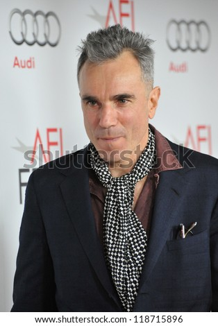"""Daniel Day-Lewis at the AFI Fest premiere of his movie """"Lincoln"""" at Grauman's Chinese Theatre, Hollywood. November 8, 2012  Los Angeles, CA Picture: Paul Smith"""
