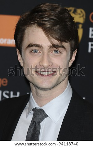 Daniel Radcliffe announces the nominations for the 2012 BAFTA Film Awards at BAFTA, London. 17/01/2012  Picture by: Steve Vas / Featureflash