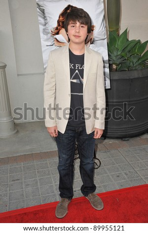 """Daniel Yelsky at the premiere of """"A Little Help"""" at the Cary Grant Theatre at Sony Pictures Studios. July 14, 2011  Los Angeles, CA Picture: Paul Smith / Featureflash"""