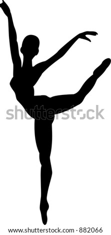 danseuse classique Photo stock ©