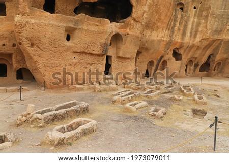 dara ancient city in Mardin, turkey. mesopotamia anatolia  Stock fotó ©