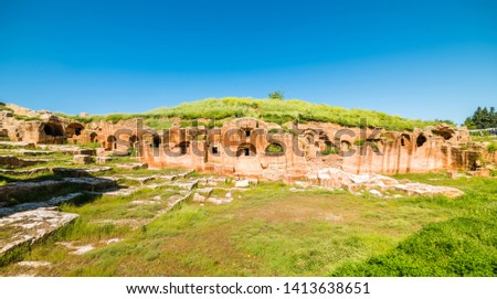 Dara Ancient City. Mesopotamia. Mardin, Turkey. Dara Ancient City, one of the most important settlements of Mesopotamia. Stock fotó ©