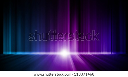 Dark abstract Aurora Wallpaper background