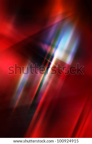 Dark abstract background in red and blue tones.