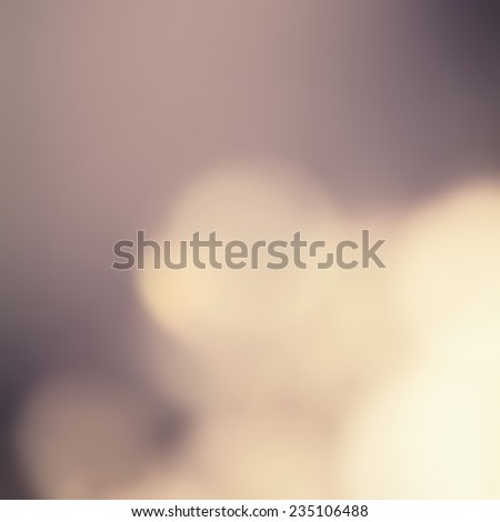 Dark Abstract blur boke background with natural defocused lights. Holiday party background with blurry special magic effect.