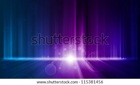 Dark abstract light and bokeh Wallpaper background - stock photo