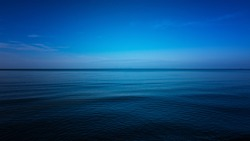 Dark and Blue ocean, Vast ocean and calm