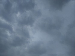 dark and cloudy weather, thunder storm and lighting