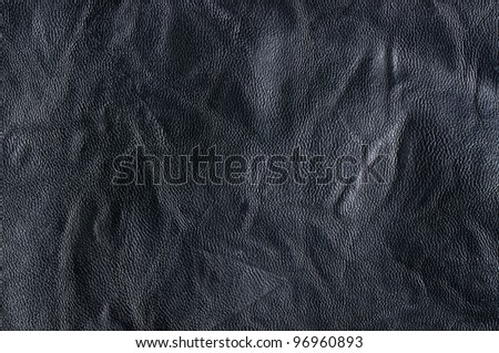 Dark background or texture (leather).