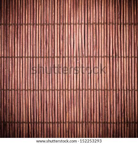 Dark Bamboo Mat Texture