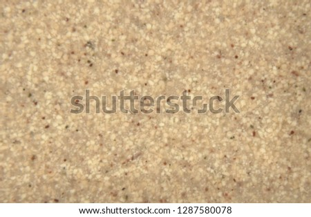 Dark beige acrylic stone stylized granite. Background. Texture. Close-up.  #1287580078