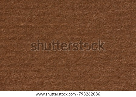 Dark beige kraft paper texture with horizontal stripes for background. High resolution photo. #793262086