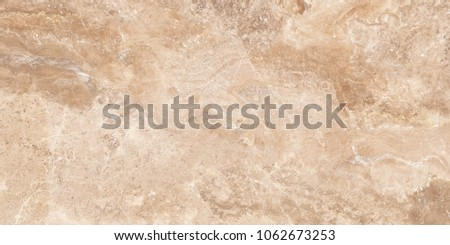 Dark Beige Marble natural stone pattern for interior exterior tile decoration  printing on wallpapers or ceramic tile inkjet.  #1062673253