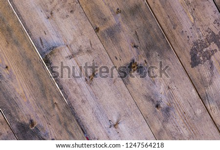 dark beige old boards pattern oblique baked natural wood background #1247564218