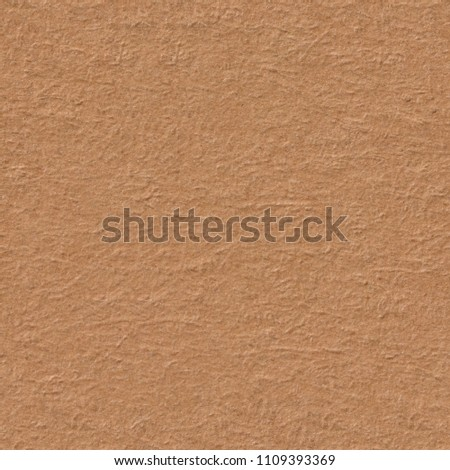 Dark beige paper texture with light pattern. Seamless square background, tile ready. High resolution photo. #1109393369