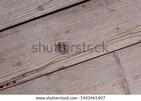 dark beige wooden background, sloping cracked stripes, weathered and solid base #1443465407