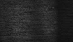 dark black folding fabric with zigzag pattern background. rough sack cloth for luxury and elegance concept background with space for text use for advertising ,banner ,template.