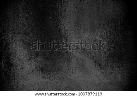 Dark Black shiny foil background texture