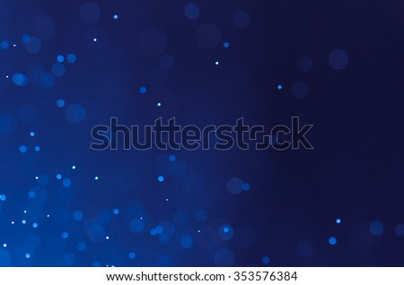 Dark blue abstract backgrounds with bokeh