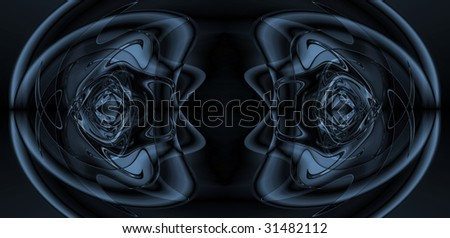 dark blue abstract illustration