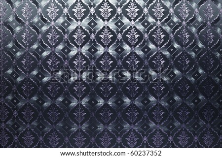 dark blue and violet vintage wallpaper