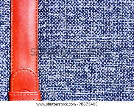 Dark blue  and white textile background book cover