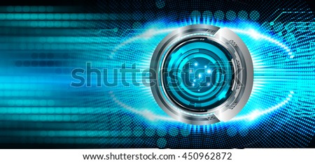dark blue cyber Light Abstract Technology background for computer graphic website internet business. circuit. illustration. digital. infographics. binary code. www. .motion move speed, eye