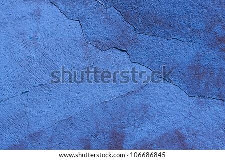Dark blue flat cracked background material