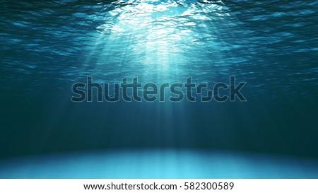 dark blue ocean surface seen...