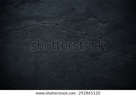 Dark blue old concrete wall texture for Textured background - Shutterstock ID 292865120