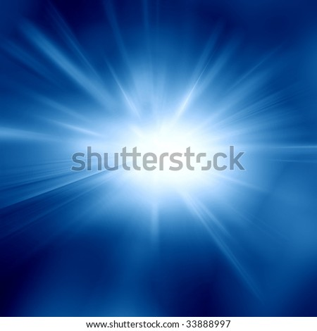 dark blue sky with a bright sun in it