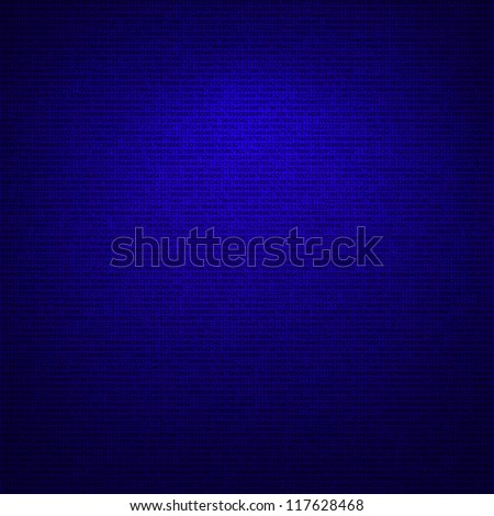 dark blue tech background, numbers texture