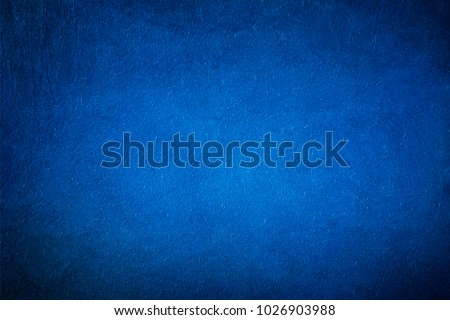 Dark blue texture for a design background. Deep color. The causal texture. Abstract background. Depths of the ocean. The dark space. Raster image.