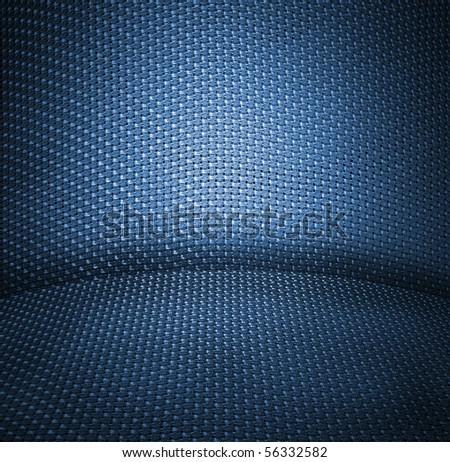 dark blue wicker textured background