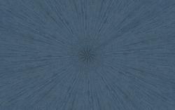Dark blue wood veneer in sunburst radial pattern