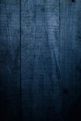 Dark blue wood. Wooden background