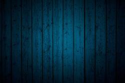 Dark Blue Wooden Board Background, Texture