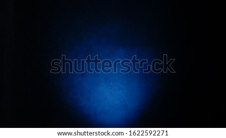 Photo of  Dark, blurred, simple background, blue green abstract background gradient blur