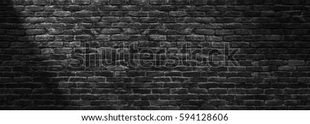 dark brick wall  texture of...