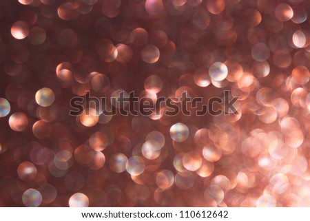dark brown abstract lights background - stock photo