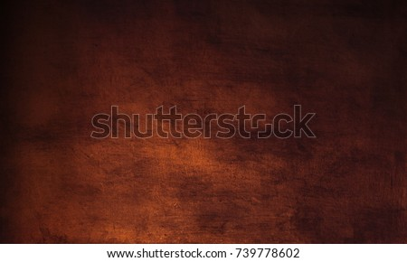 Photo of  Dark brown background - grunge  textured  wall for your design.