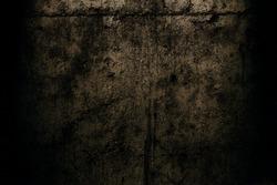 Dark brown background. Horror background