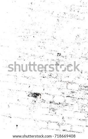 Dark brown grunge background. Black white orange old weathered surface in horror style. Dirty spots, cracks, splashes on old canvas. Abstract texture of a rusty aged surface. Light brown backdrop #718669408