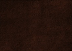 Dark brown hair on hide leather texture