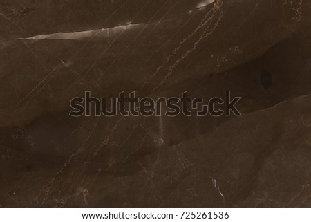 Dark brown marble background. Brown marble texture. High resolution photo.