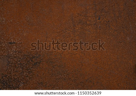 dark brown natural rusty panel background texture #1150352639